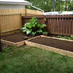 T-Shaped Vegetable Garden