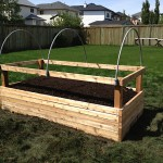 Raised bed for handicapped access